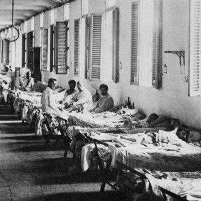 pandemias mundiales timeline
