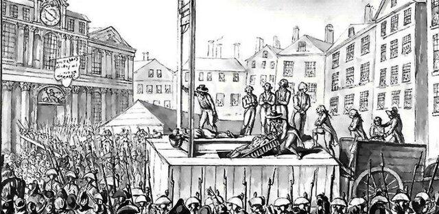 """El sector más poderoso de la burguesía se propuso terminar con los """"excesos del populacho"""", y produjo un """"golpe de Estado"""""""