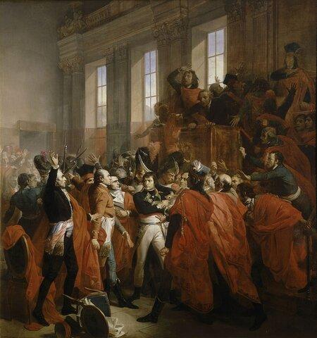 Napoleón y Siéyes dieron un golpe de Estado