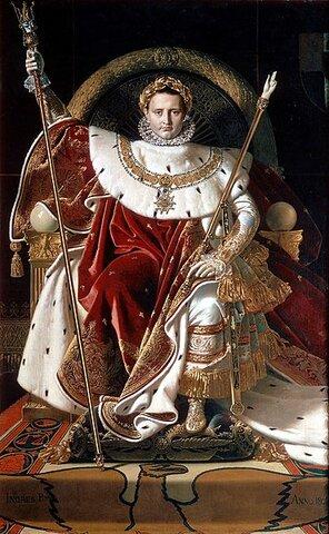 El Senado proclamó a Napoleón emperador de los franceses.
