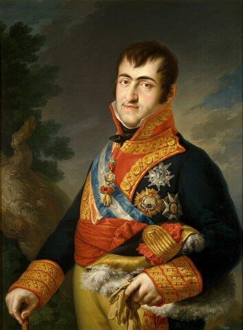 Año 1833 Muerte de Fernando VII