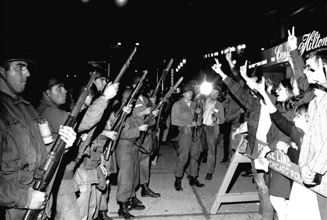 Riots at the Chicago Democratic Convention
