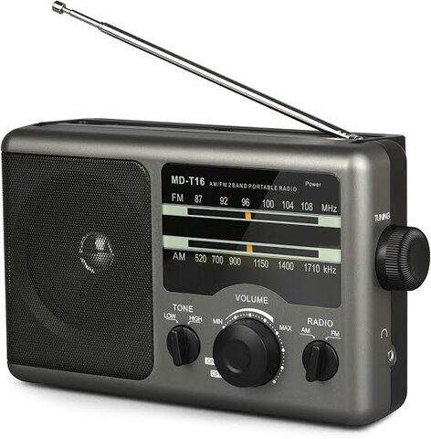My first exposure to Portable Radio