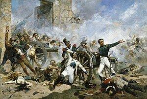 Guerra contra la independencia española contra Napoleón.
