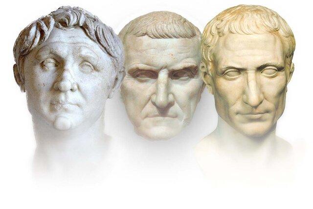 ▪︎The First Triumvirate: 60 BC-53 BC