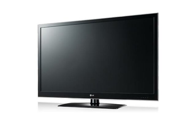 My first exposure to flat screen tv