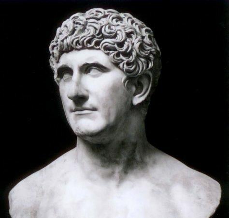 *Mark Antony: 83 BC-30 BC