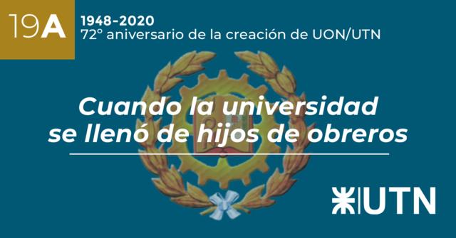 Creación de la Universidad Obrera