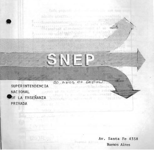 Creación de la Dirección Nacional de Enseñanza Privada (Decreto Nro 7728)