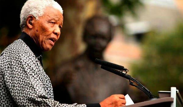 Elección de Nelson Mandela como presidente de Sudáfrica