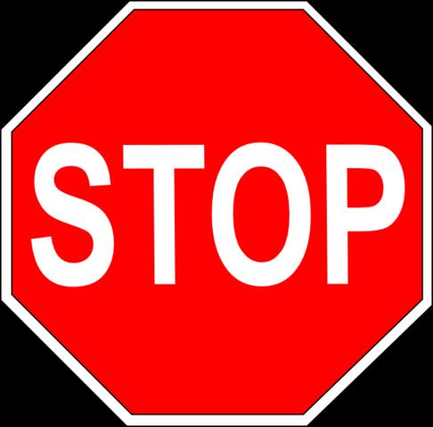 Stop Sign - William Phelps Eno