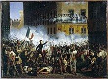 Primera revuelta social en Paris.
