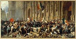 Segunda revuelta social en Paris.