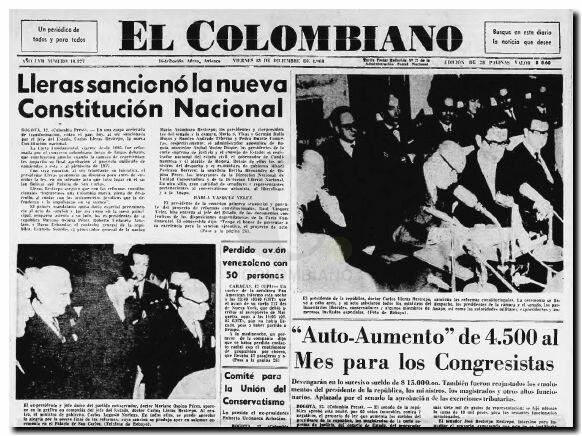 Reforma constitucional en Colombia