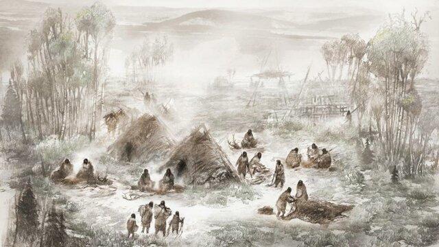 Primeros asentamientos humanos
