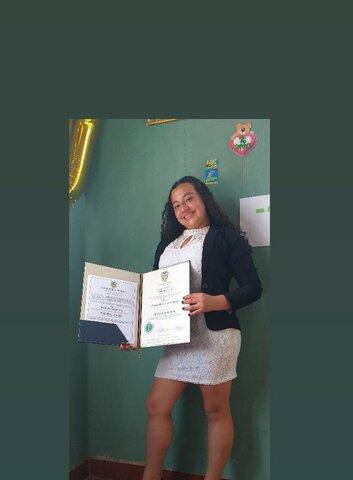 mi graduación de  bachiller