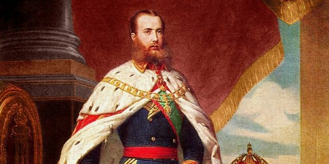 Exigencia de la adopción de un gobierno monárquico Maximiliano Habsburgo
