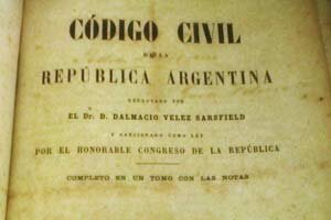 Sanción del Código Civil.