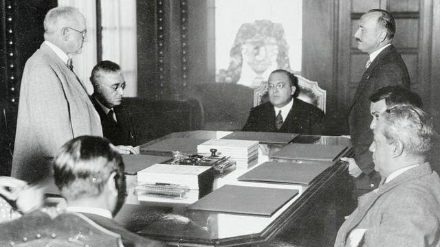 Inicio  Genaro Estrada, como Secretario de Relaciones Exteriores y su doctrina