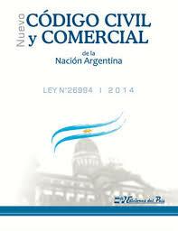 Nuevo Código Civil y Comercial de la Republica Argentina.