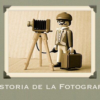 HISTORIA DE LA FOTOGRAFIA timeline