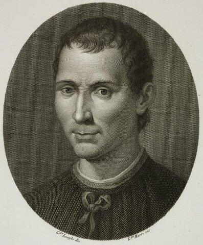 NICOLAS MAQUIAVELO (1469 - 1527)