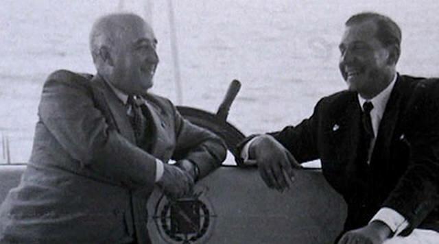 Entrevista entre Juan de Borbón y Franco.