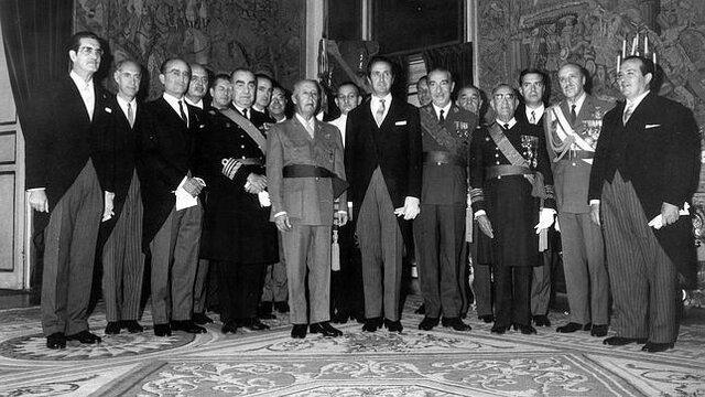 Ministros tecnócratas del Opus Dei.