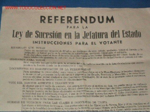 Ley de Sucesión.