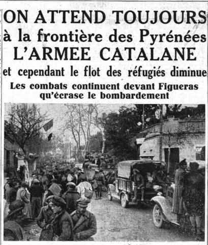 Frontière Des Pyrénées