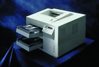 La primera impresora de Red
