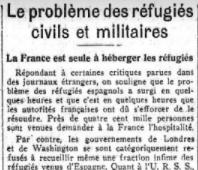 Le Problème Des Réfugiés