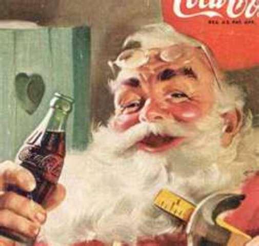 Santa Claus - Colonial America