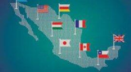 Características de los principales momentos históricos de las relaciones internacionales en México. timeline