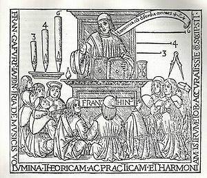 San Agustín enseña retórica