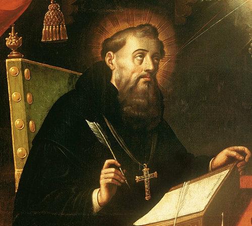 San Agustín se ordena como sacerdote