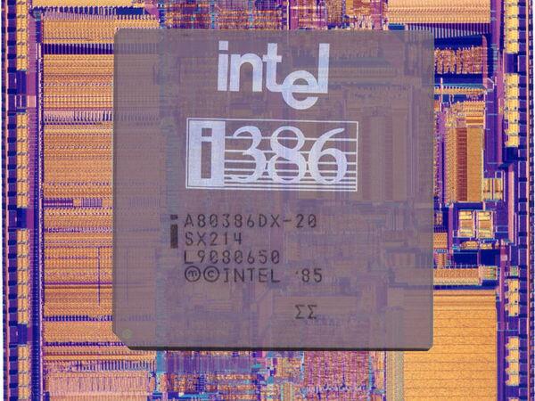 Intel | 80386 (Басуева М.)