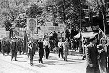 Los soviéticos empiezan a ocupar los países de Europa del este