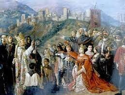 Conquesta de Granada a mans dels Reis Catòlics.