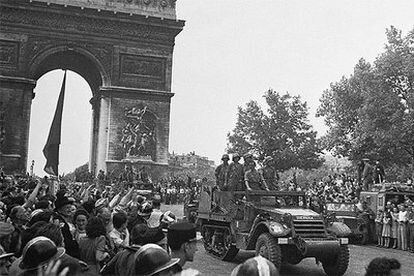 Liberación de Francia y el paso del Rin