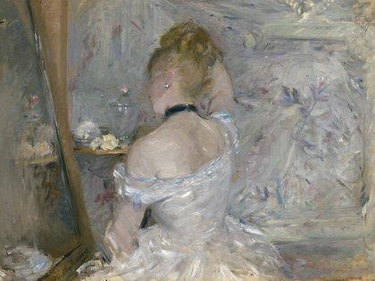Mujer en su baño, Berthe Morisot (1875-1880)