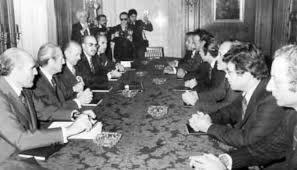 Tratado de Madrid y entrega del Sahara español a Marruecos y Mauritania