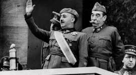 EJE CRONOLÓGICO BLOQUE 11: La creación del estado franquista. Fundamentos ideológicos y apoyos sociales (1939-1975) timeline