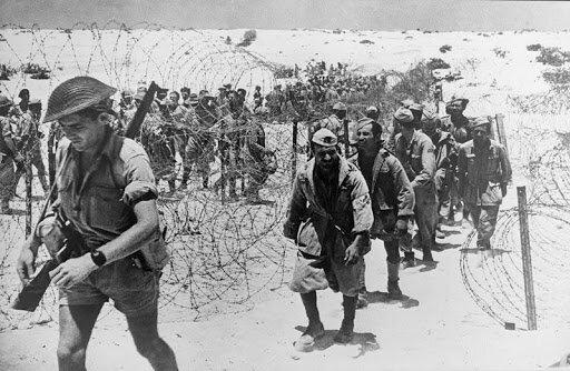 Capitulació de les tropes de l'Eix en el nord d'Àfrica.