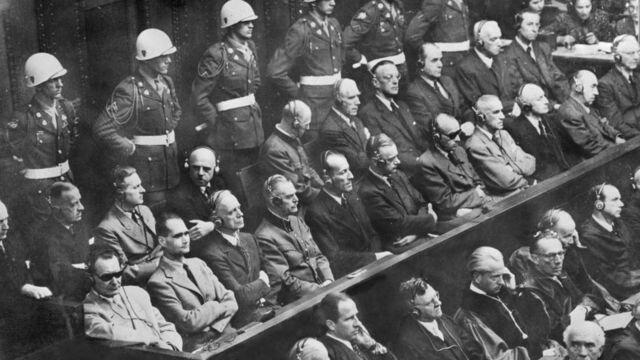 Los jucícios de Nuremberg
