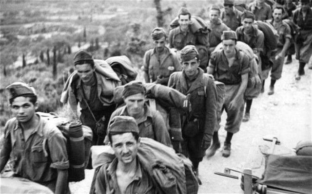 Capitulació de les forces alemanyes a Itàlia.