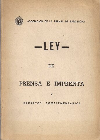 Ley de Prensa