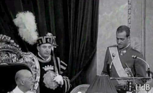 Designación de Juan Carlos de Borbón como sucesor titular del Rey