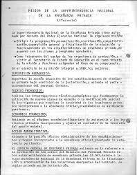 Creación de la Superintendencia Nacional de Educación Privada (1947)