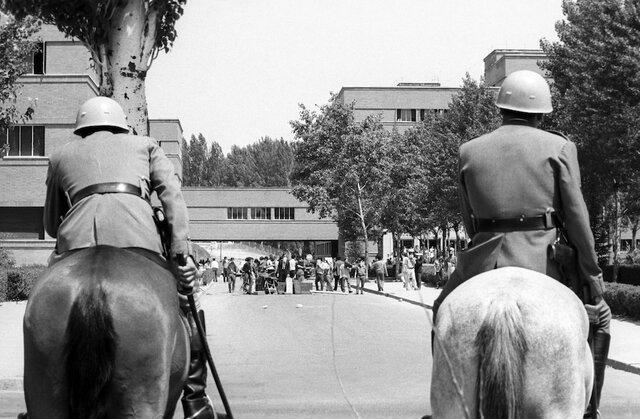 Incidentes universitarios en Madrid